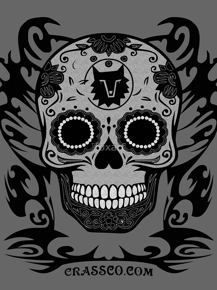 SKULL TRIBAL by fuxart