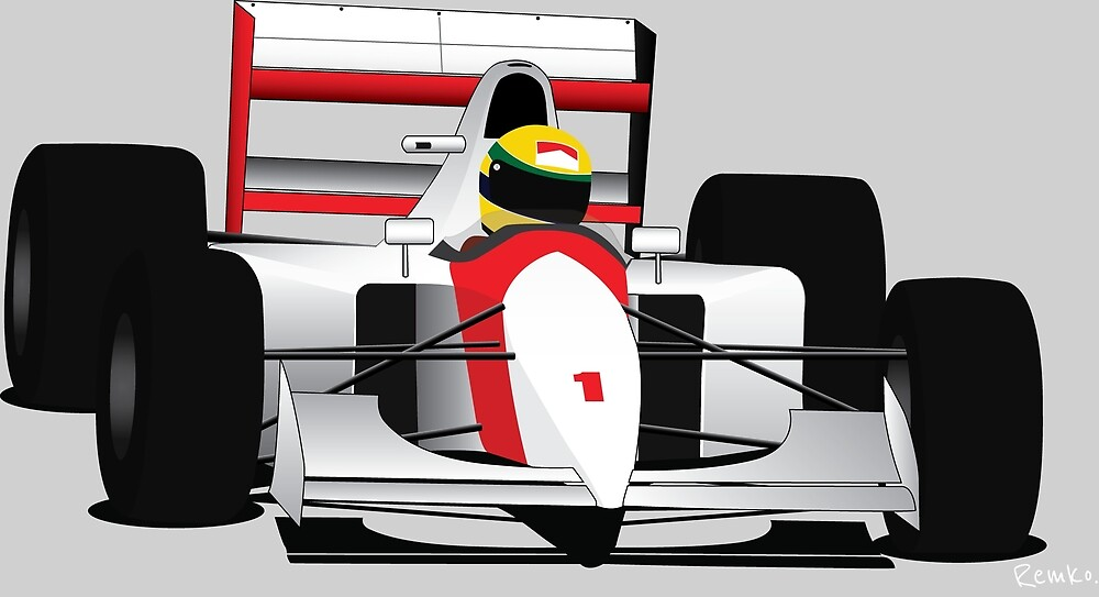 Formula 1 Senna McLaren by Proxzor