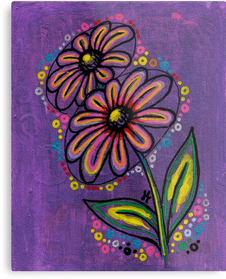 """""""Glow Violet"""" by Jessica Lavallee"""