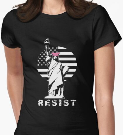 Lady Liberty Pink Protest T-Shirt
