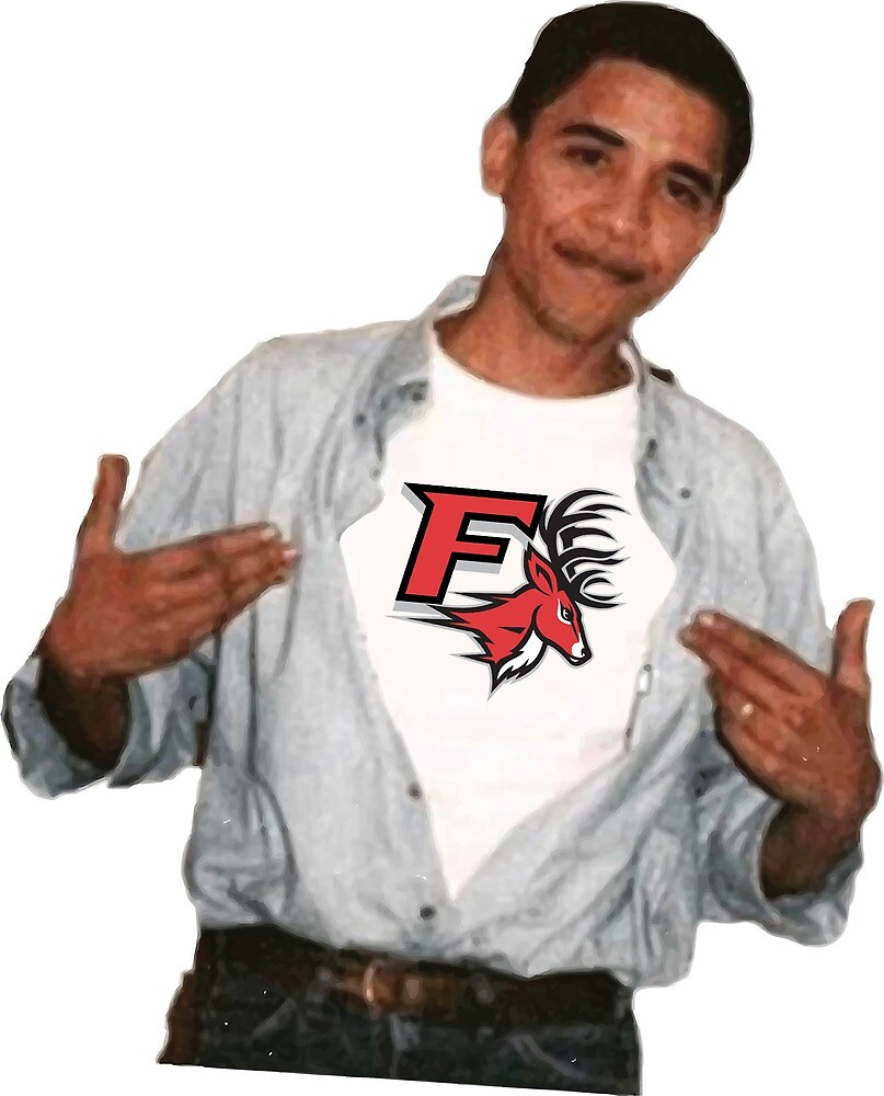 Barack Obama Fairfield Stags by hjg15