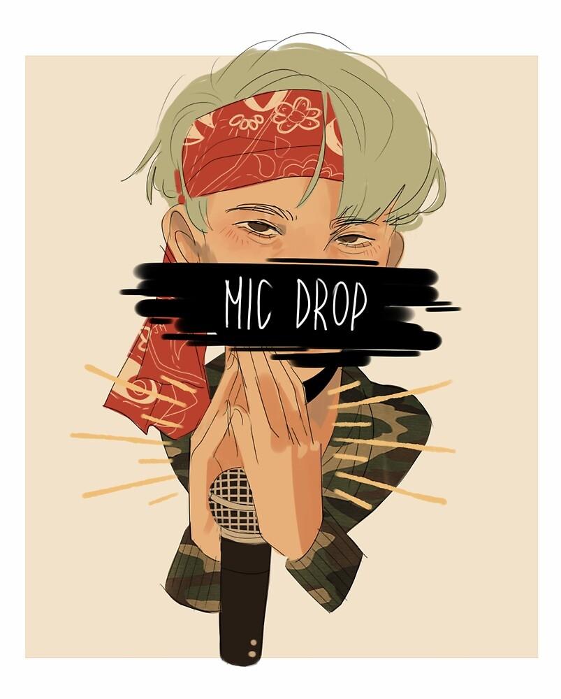 mic drop yoongi by pissman
