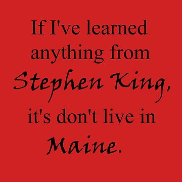 Don't Live In Maine. by fanfools