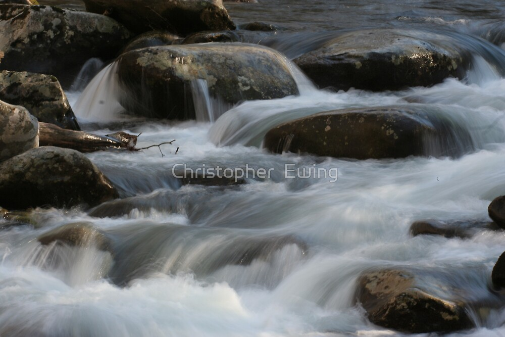 milky waters by Christopher  Ewing