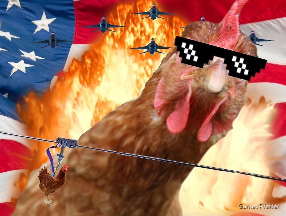 Chicken  by garnet Pfeffer