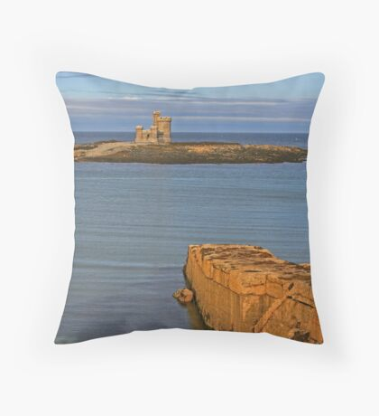 Tower Of Refuge Throw Pillow