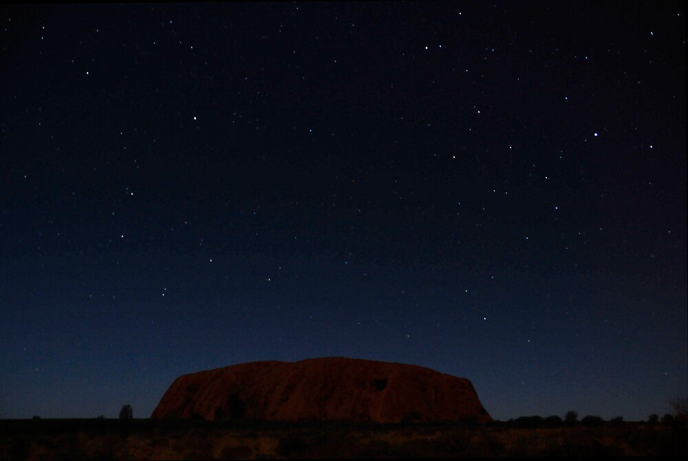 Uluru Under Stars by Frank  McDonald