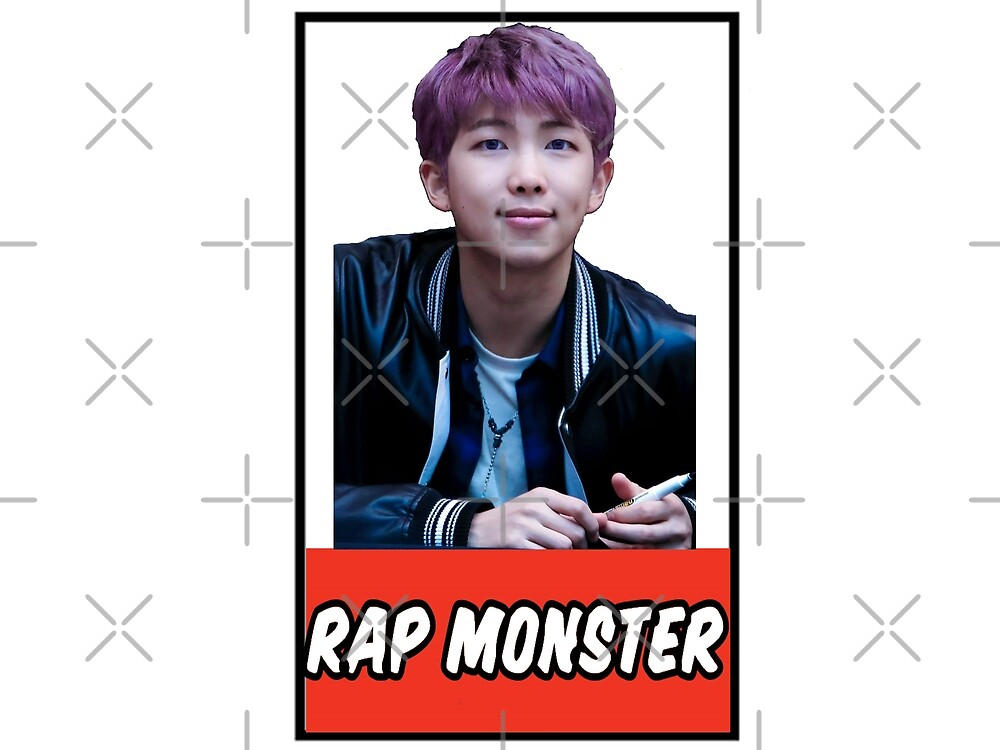 RAP MONSTER by idebnams