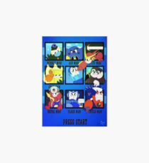 Rockman 2 - Now in Technicolor! Art Board