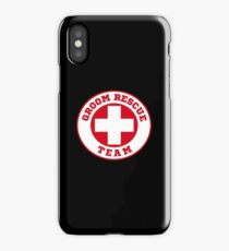 Groom Rescue Team V4 iPhone Case/Skin
