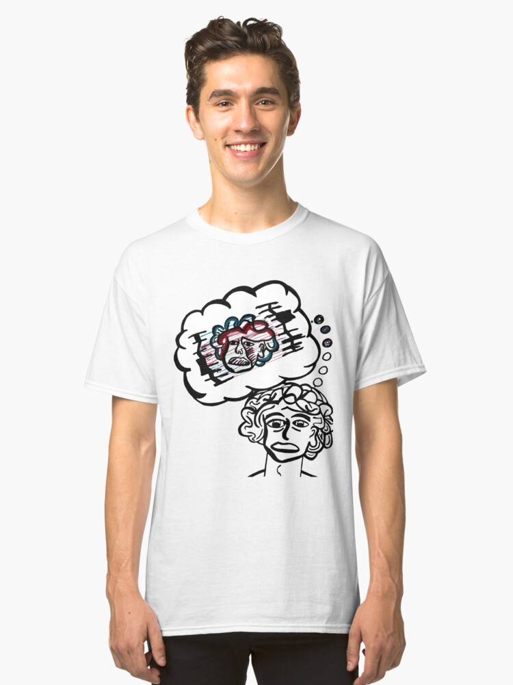 Intrusive Thought Classic T-Shirt Front