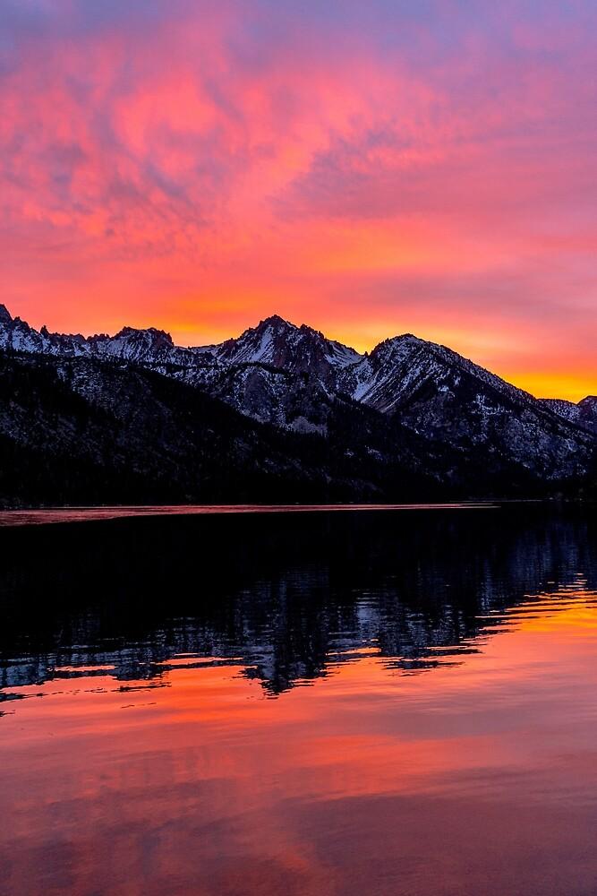 Orange Sunset by JamieAnnett