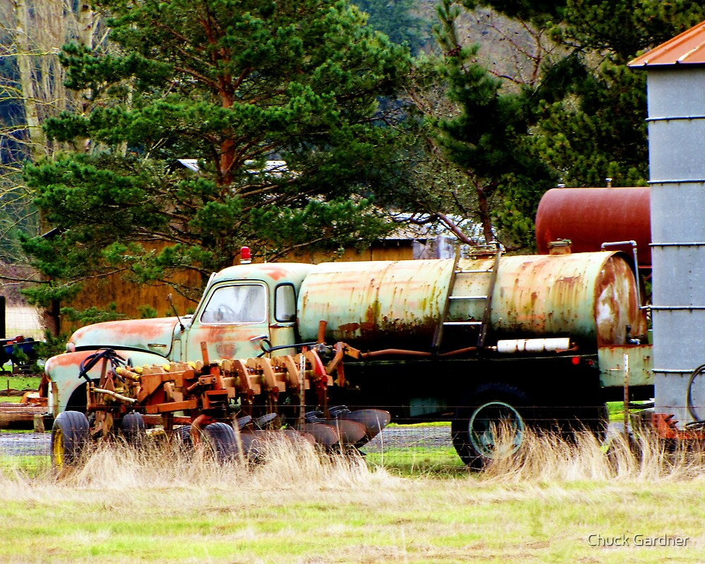 Retired to the Farm by Chuck Gardner