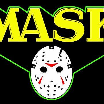 MASK - Jason Voorhees  by rabidweasels