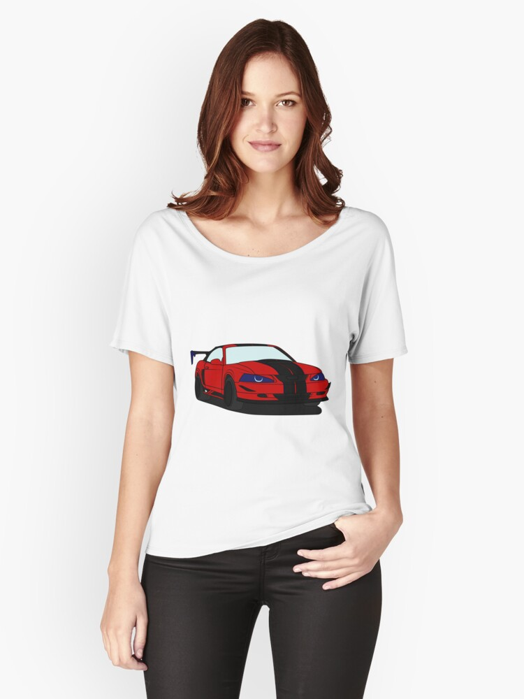 Red Pony Proyect Women's Relaxed Fit T-Shirt Front