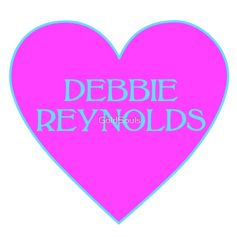 Debbie Reynolds Heart by GoldSouls