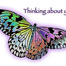 Thinking about you! by Bonnie T.  Barry