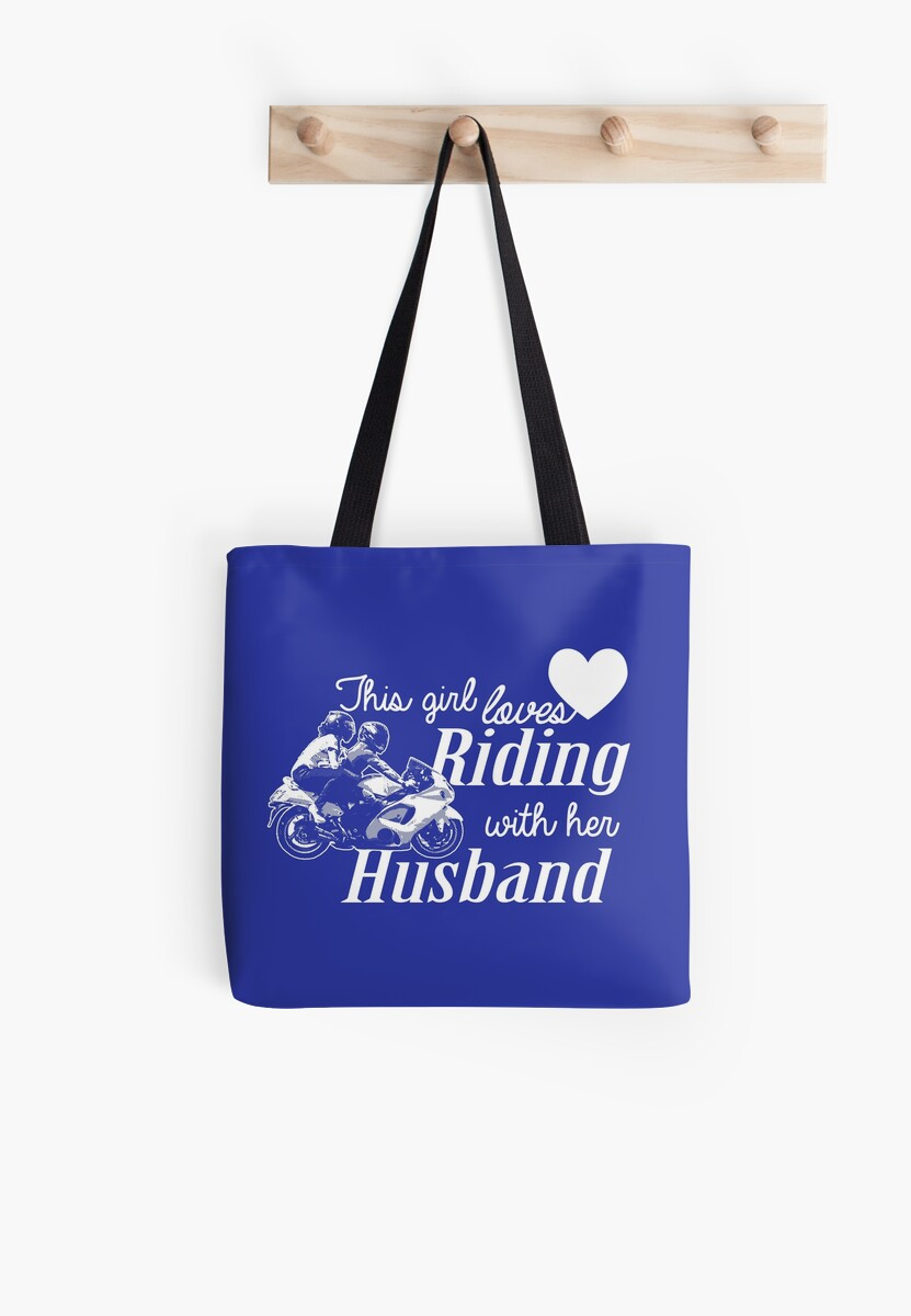 This Girl Loves Riding With Her Husband. by flipper42