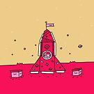 Make Believe Rocket by Porky Roebuck