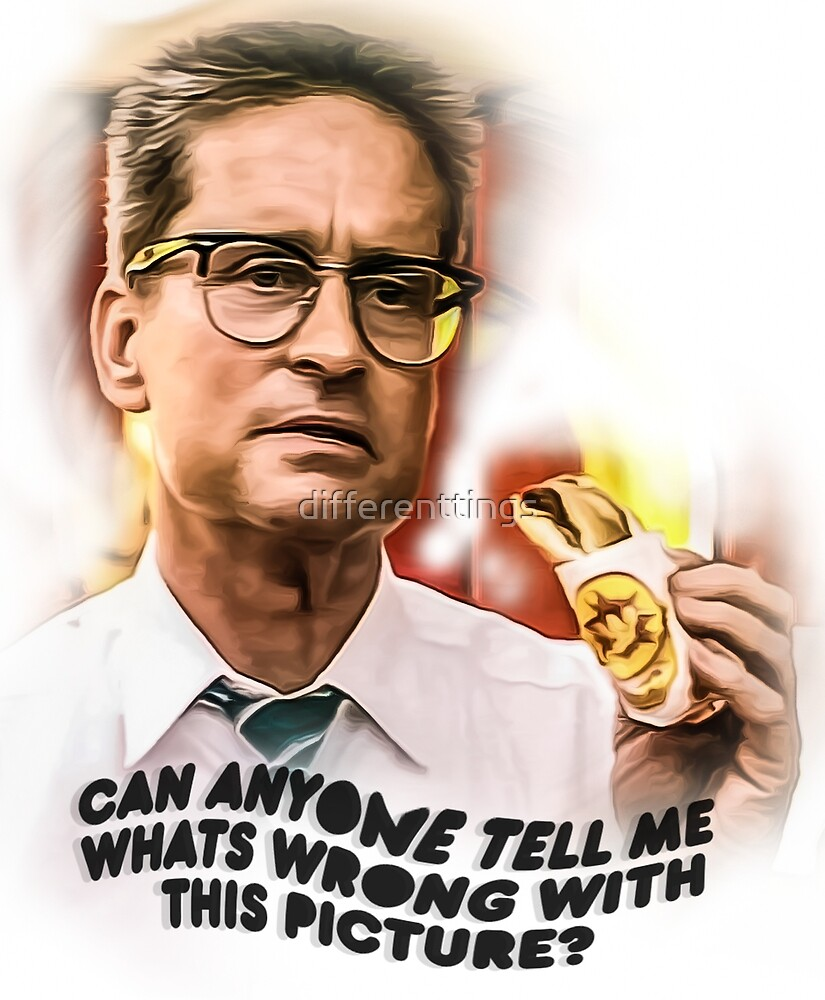 falling down print movie by differenttings