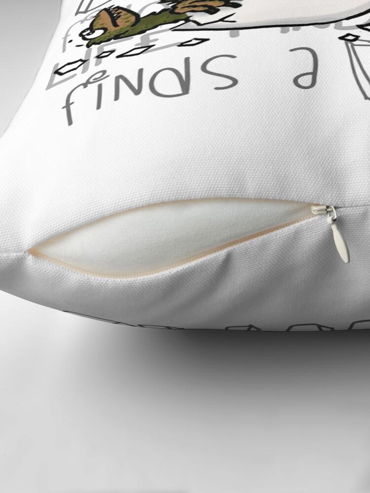 Alternate view of Baby dinosaurs Throw Pillow