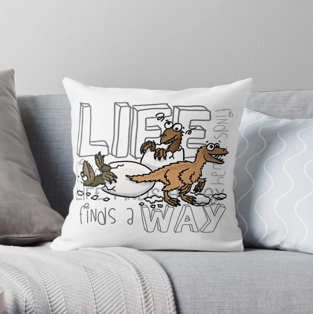 Baby dinosaurs Throw Pillow
