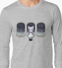 Mystic Miku | Crystal Ball & Zodiac | Light Purple Long Sleeve T-Shirt