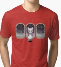 Mystic Miku | Crystal Ball & Zodiac | Light Purple Tri-blend T-Shirt