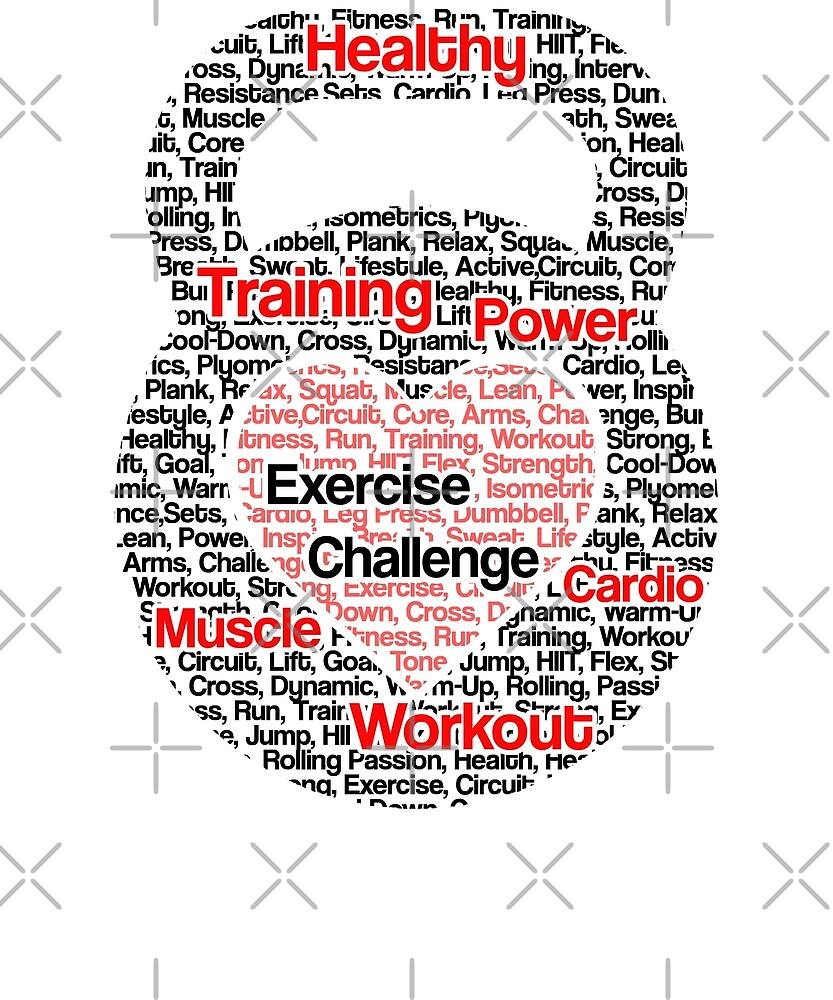 Kettlebells Training Graphic by PopArtDesigns