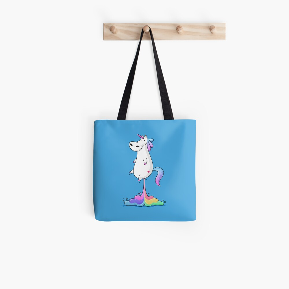 Unicorn Fart Tote Bag
