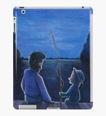 Huck Finn and Jim iPad Case/Skin