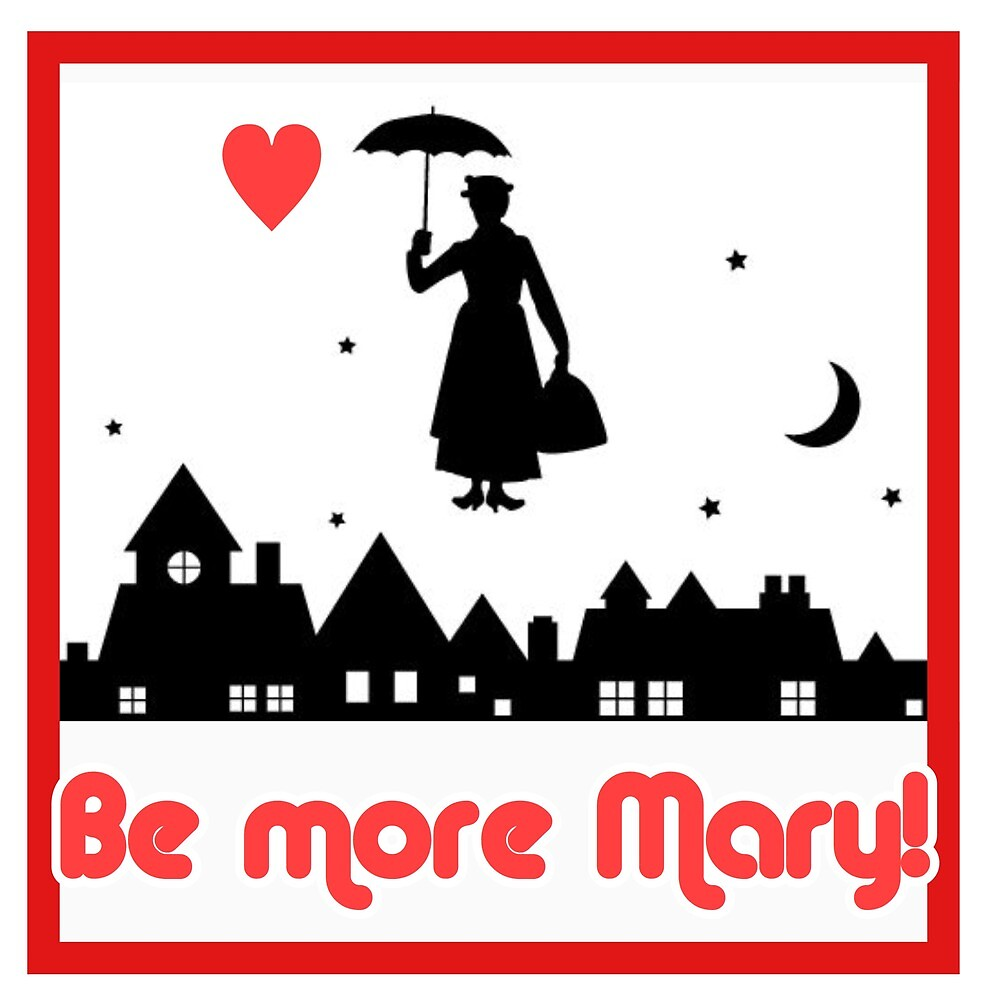 Mary Poppins by MworldTee