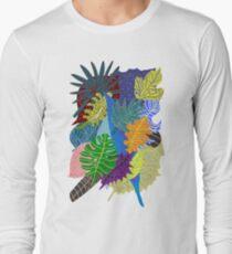 Lush Leaves Long Sleeve T-Shirt