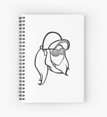 Rezz Logo Spiral Notebook