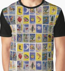 Mexican Loteria Graphic T-Shirt