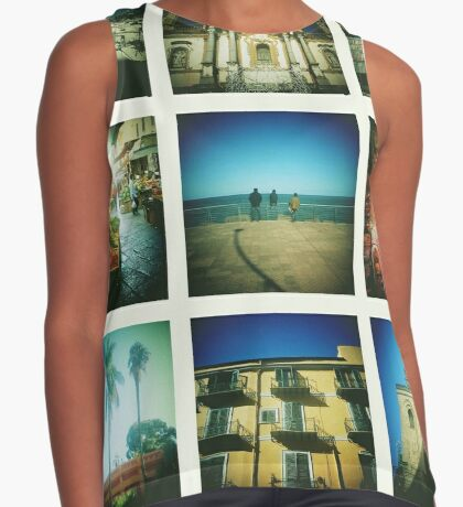 Postcards from Palermo Contrast Tank
