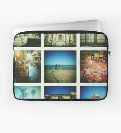 Postcards from Palermo Laptop Sleeve
