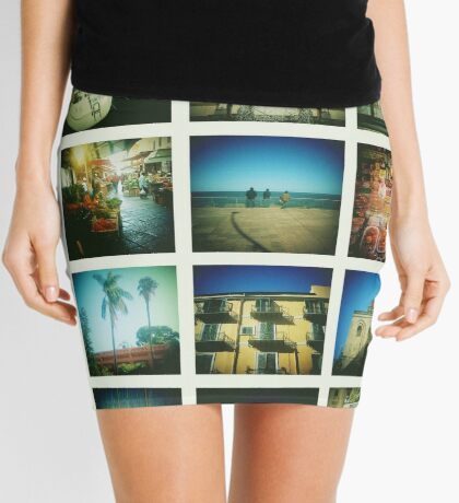 Postcards from Palermo Mini Skirt