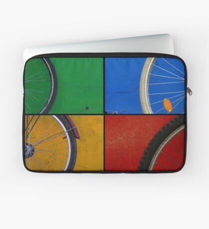 Bike Wheels Laptop Sleeve
