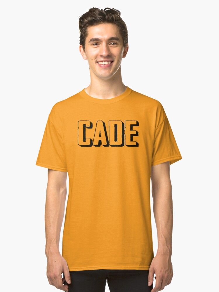 Name Cade / Inspired by The Color of Money Classic T-Shirt Front