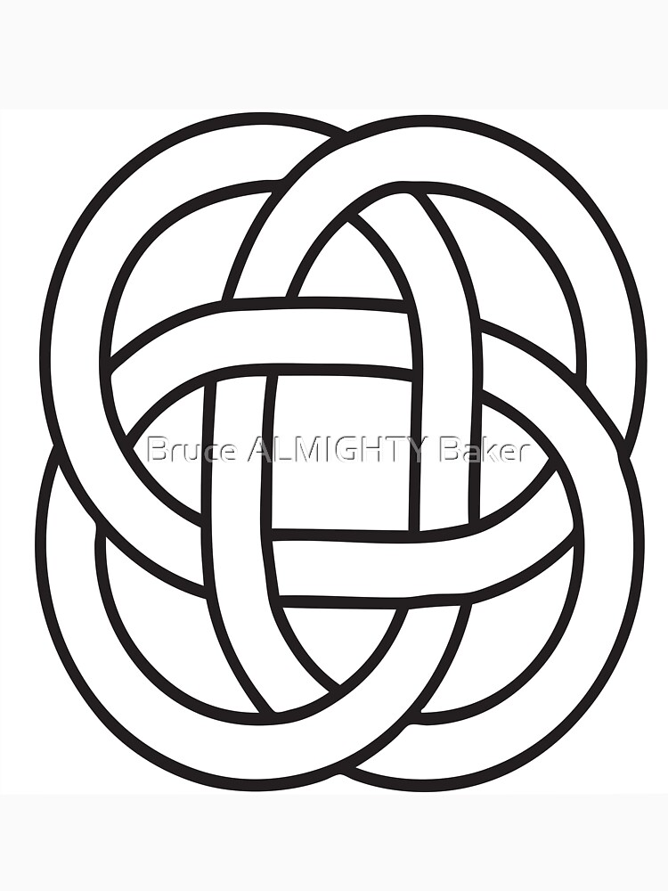 Celtic Knots Abstract Art by BruceALMIGHTY