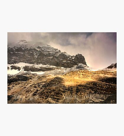 Athabasca Golden Peaks Photographic Print