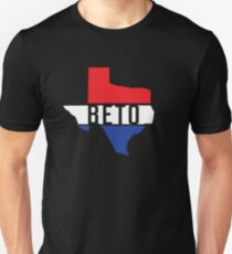 Beto Texas Red White Blue Patriotic T-Shirt For US Senate Senator Democrat Turn Texas Blue Democratic Party Unisex T-Shirt