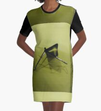 Iron Insect Graphic T-Shirt Dress