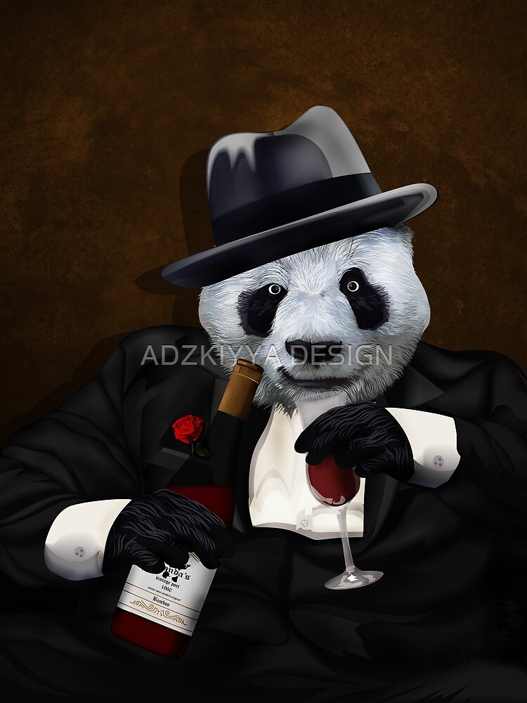 Like a boss panda by GreenLight08