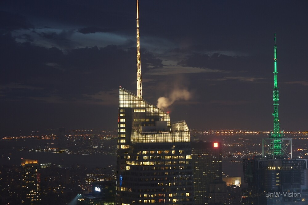 New York, View from Top of the Rock by BnW-Vision