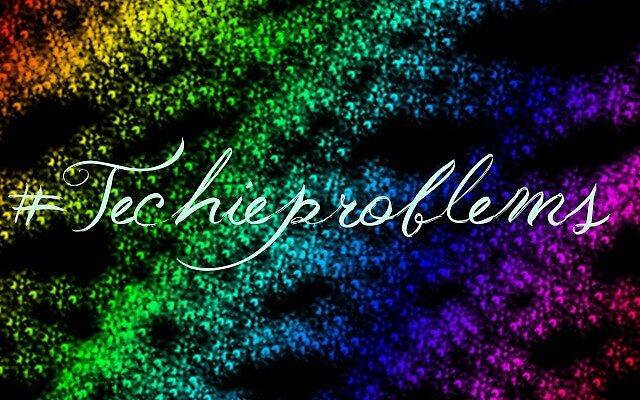 #Techieproblems by FrostfootdA