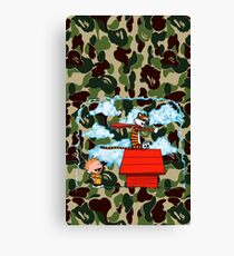 Phone Case Calvin and Hobbes Canvas Print