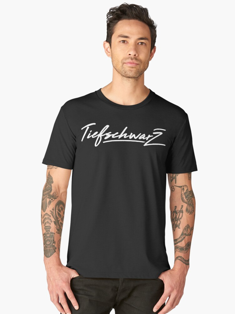 Tiefschwarz Men's Premium T-Shirt Front