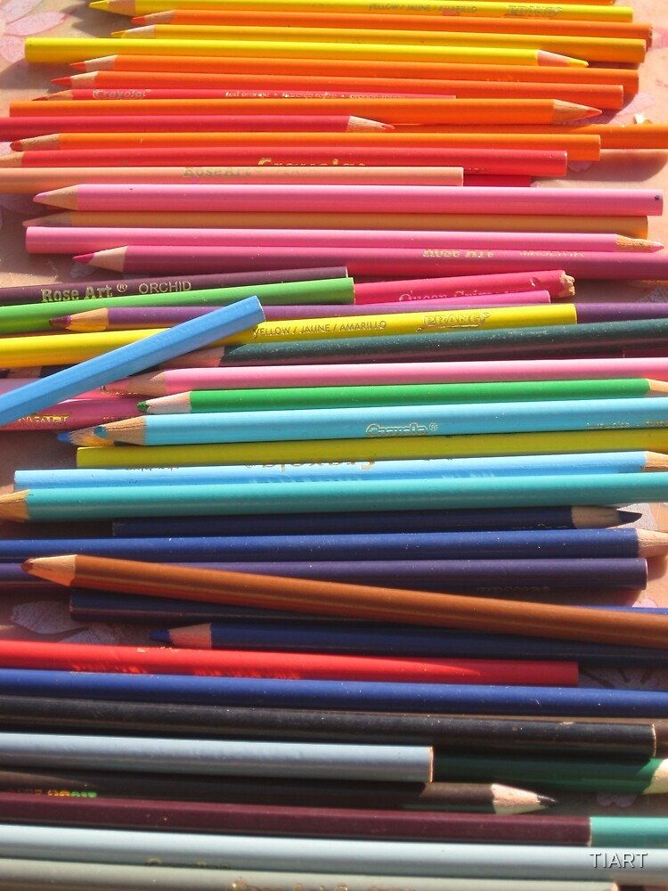 Colored Pencils by TIART